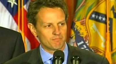 Video: Geithner's first China visit