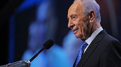 Israel's Peres tells of peace hopes