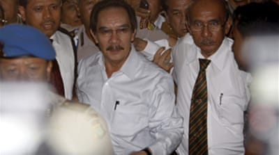Indonesia anti-graft chief arrested