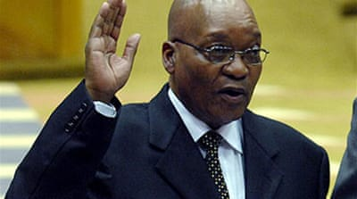 Zuma elected South Africa president