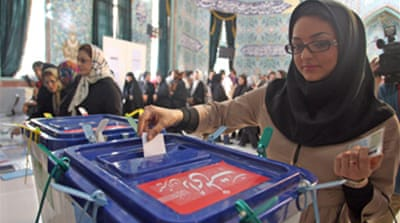 Iranians vote in presidential poll