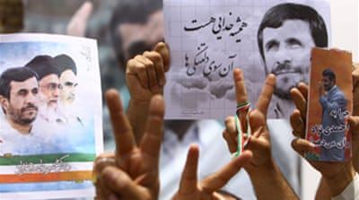 Ahmadinejad 'wins second Iran term'