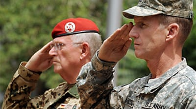 US general takes Afghan command