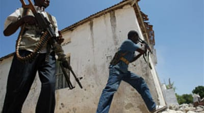 Troops 'gain ground' in Mogadishu