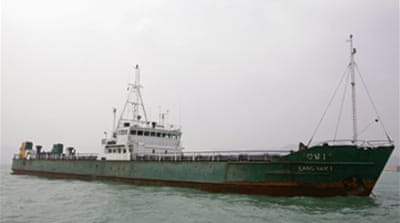 N Korea 'arms ship' changes course