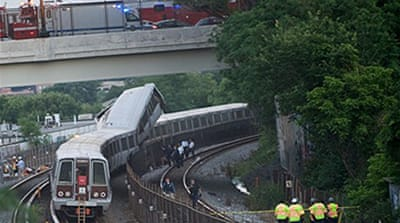 Deaths in Washington train crash