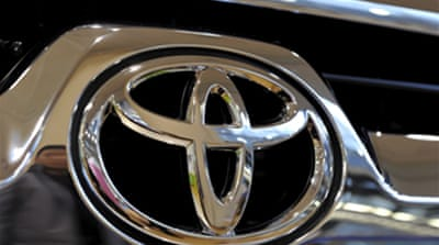 Toyota announces US sales freeze
