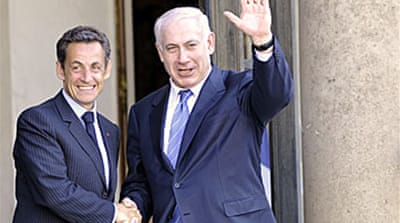 Sarkozy in Israeli settlement plea