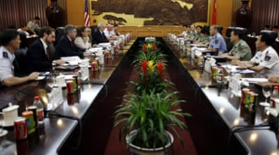China-US military talks begin