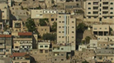 Map of East Jerusalem housing plan
