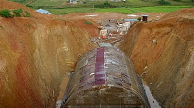 Myanmar's 'secret tunnels' revealed