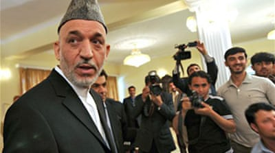 Karzai calls on Taliban to vote