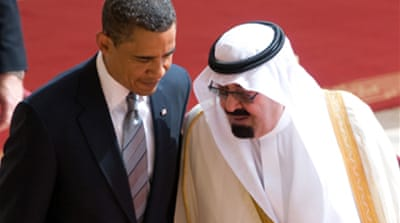 Saudis urge US on Middle East peace