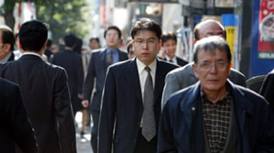 Japan jobless at five-year high