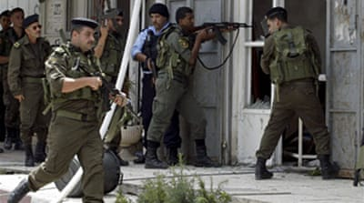 Palestinians killed in police raid