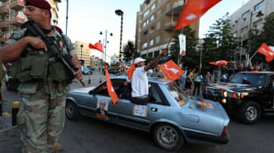 Lebanon readies for tight poll race