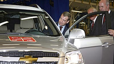 GM and Ford suspend Russian plants