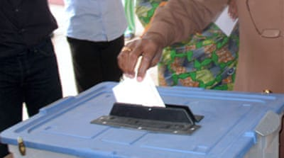 Congolese vote in presidential poll