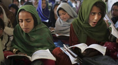 Fighting poverty, educating girls