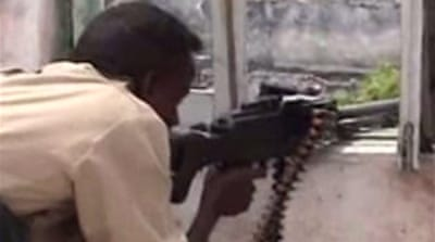 Video: Fighting rages in Somalia