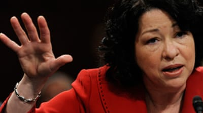 US senate confirms Sotomayor