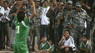Football returns to Baghdad