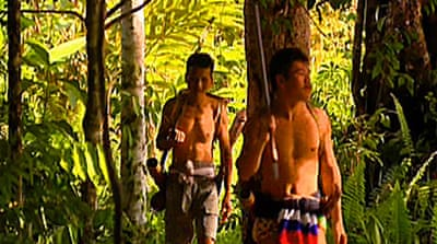Video: Borneo tribe in peril