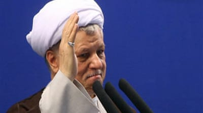 Rafsanjani urges 'freedom' in Iran