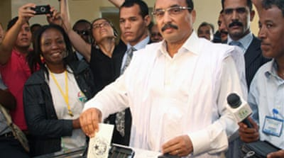 Mauritania vote count begins
