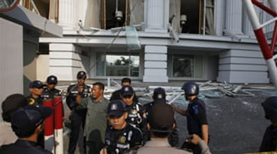 Deadly blasts hit Indonesia hotels