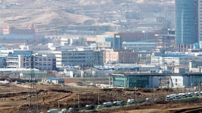 Koreas factory park talks stall