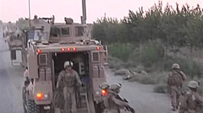 Video: US in major Taliban fight