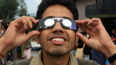 Solar eclipse wows Asia