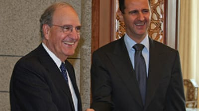 US envoy holds Syria talks