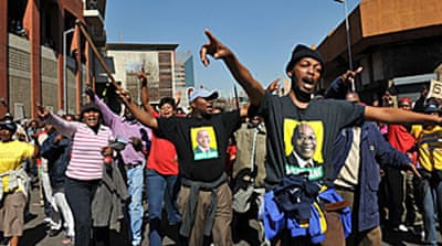 Strike cripples South Africa cities