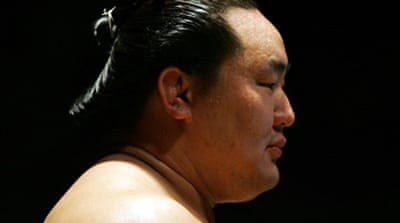 Sumo the winner in Asashoryu row