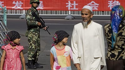 China praises US stance on Xinjiang