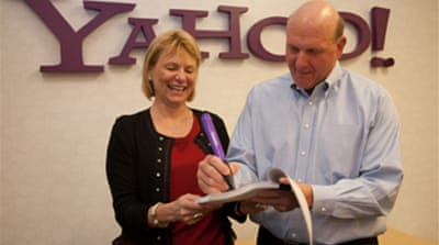 Microsoft reaches deal with Yahoo