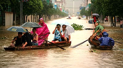 Floods in China wreak deadly havoc
