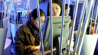 N Korea blamed for cyber attacks