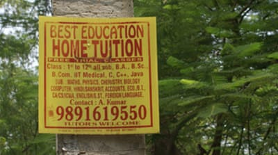 Private tuition soars in India