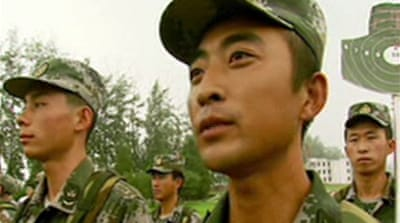 Video: China's army goes online
