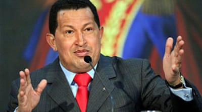 Chavez debuts in Central Asia