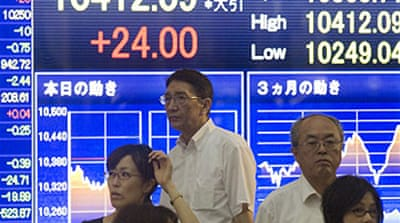 Data boosts Japan's Nikkei
