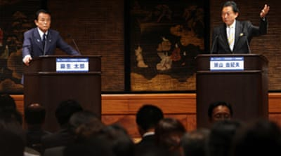 Japan poll rivals meet in TV debate