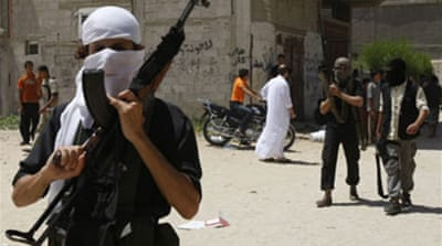 Gunfight breaks out at Gaza mosque