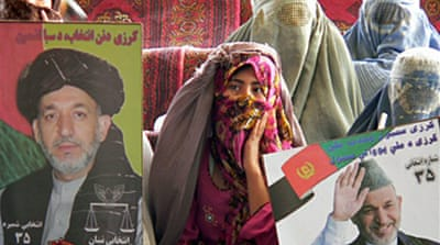 Afghan candidates wrap up campaigns