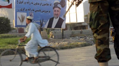 Kabul urges poll violence blackout