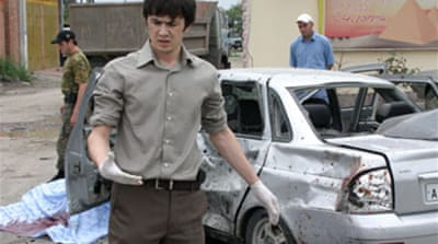 Suicide bombings shake Chechnya