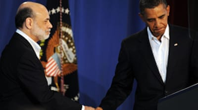 Obama keeps Bernanke as Fed chief